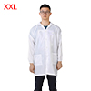 Anti Static Overalls Unisex ESD Lab Coat Button Up XXL White