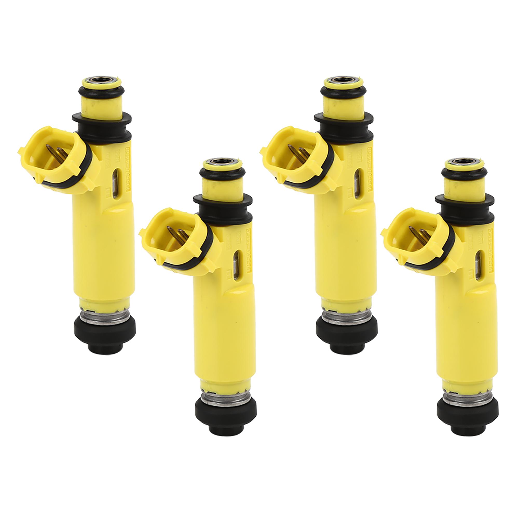 4pcs New Plastic Fuel Injector Nozzle 195500-4450 for 04-09 Mazda RX-8