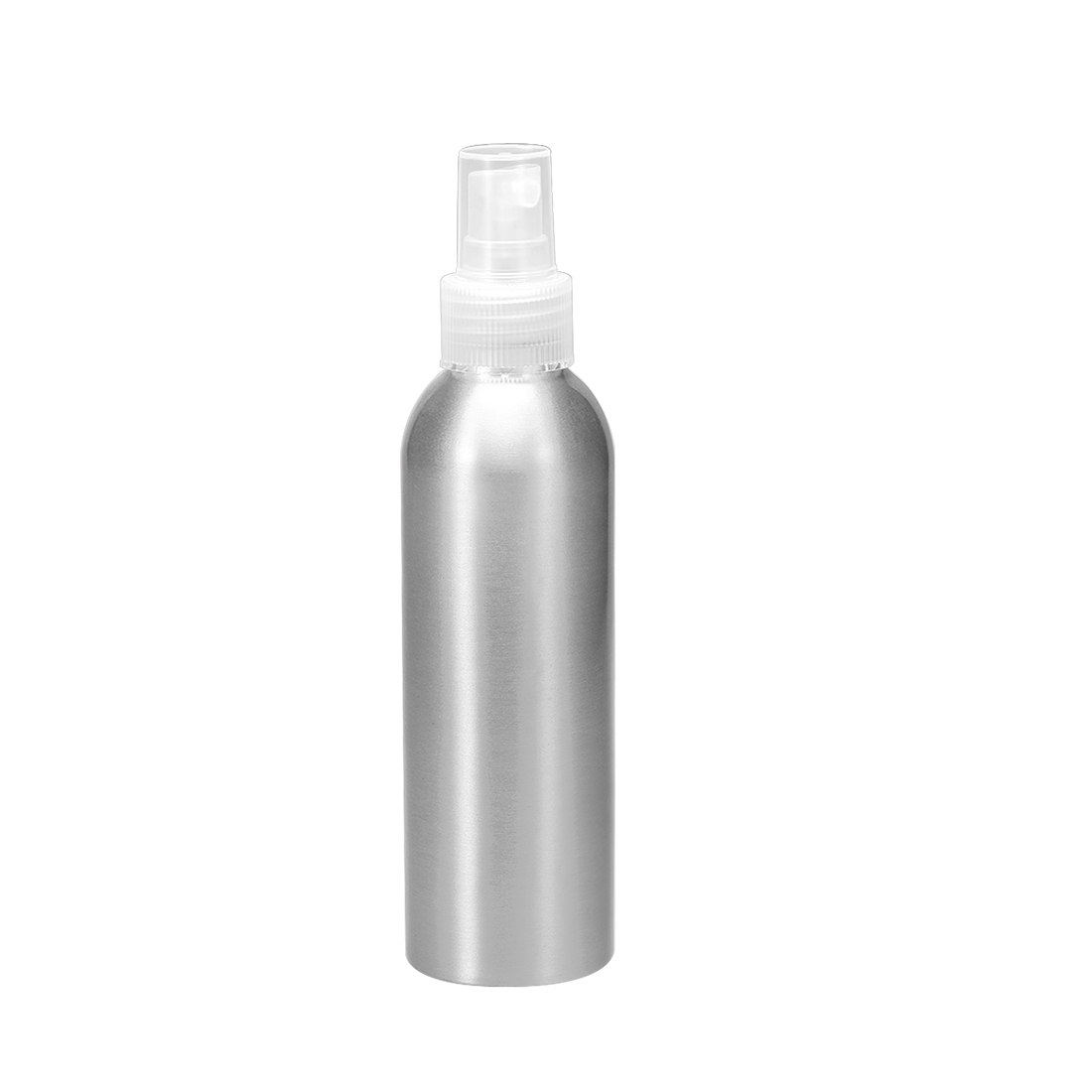 5oz/150ml Aluminium Spray Bottle with Clear Sprayer, Empty Refillable Container