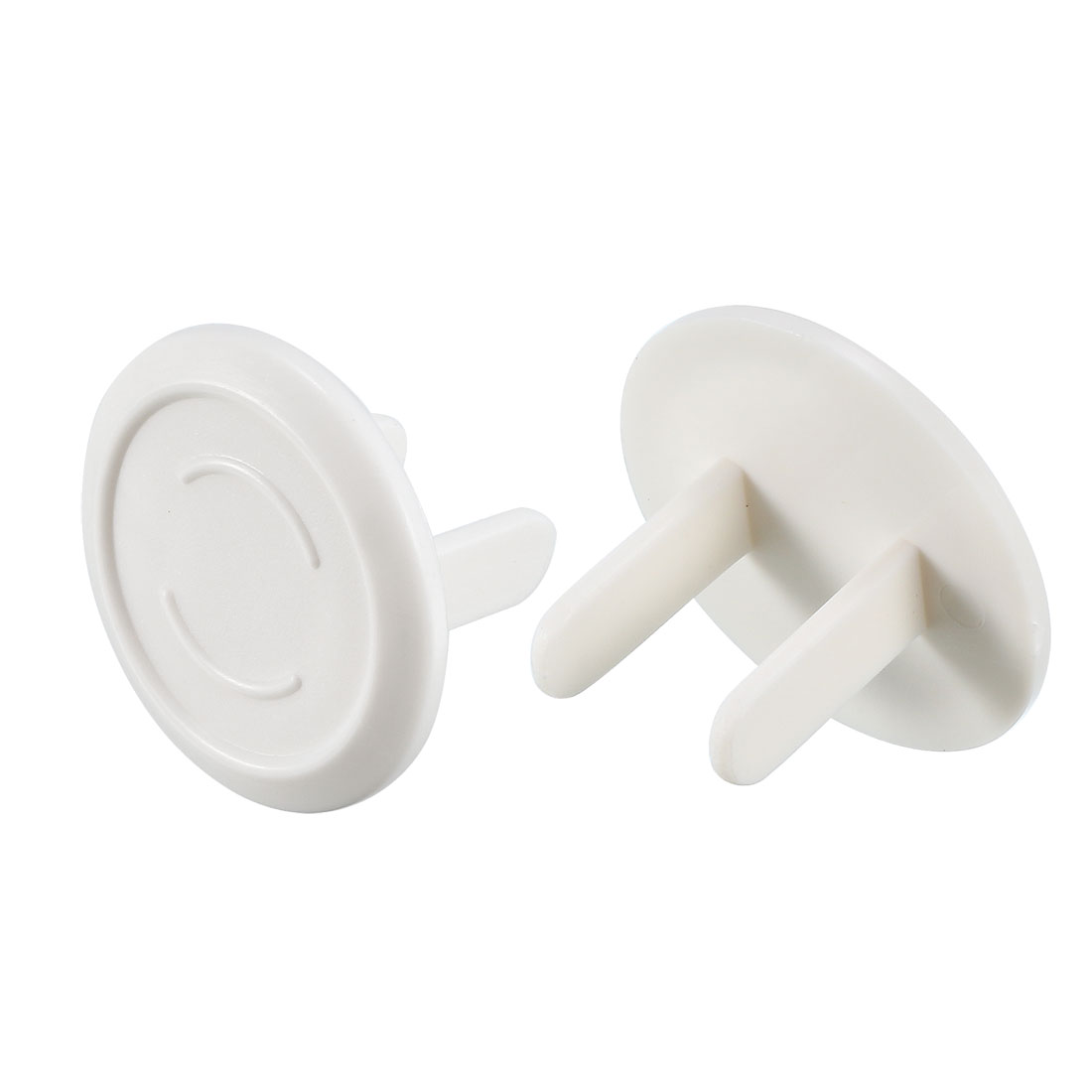 US Standard Power Socket Covers Durable Electrical Protector Round Caps 32 Pcs