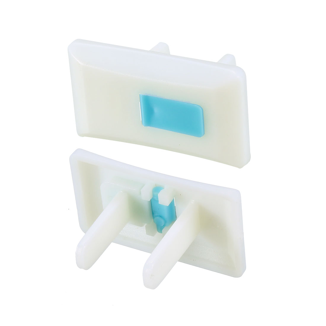 US Stand Power Socket Covers Durable Electrical Protector Cap Blue 40 Pcs