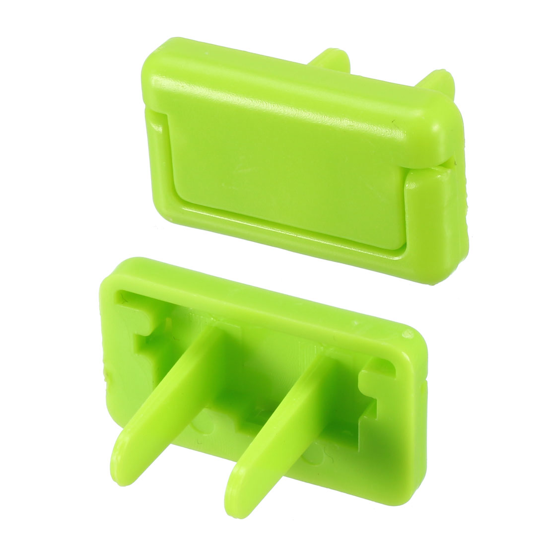 US Stand Power Socket Covers Durable Electrical Protector Cap Green 55 Pcs