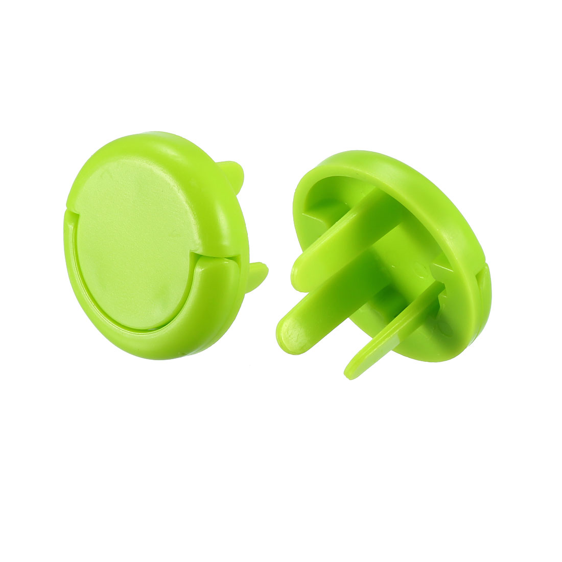 AU Standard 3 Prong Power Socket Covers Durable Electrical Proofing Green 40 Pcs