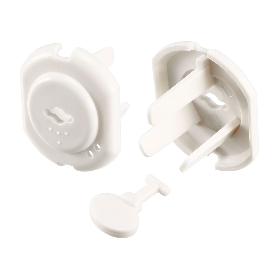 AU Standard 3 Prong Power Socket Covers Durable Electric Protector Proofing 2Pcs