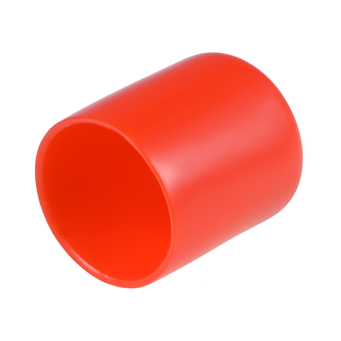 Screw Thread Protector, 30mm ID Round End Cap Cover Red Tube Caps 10pcs