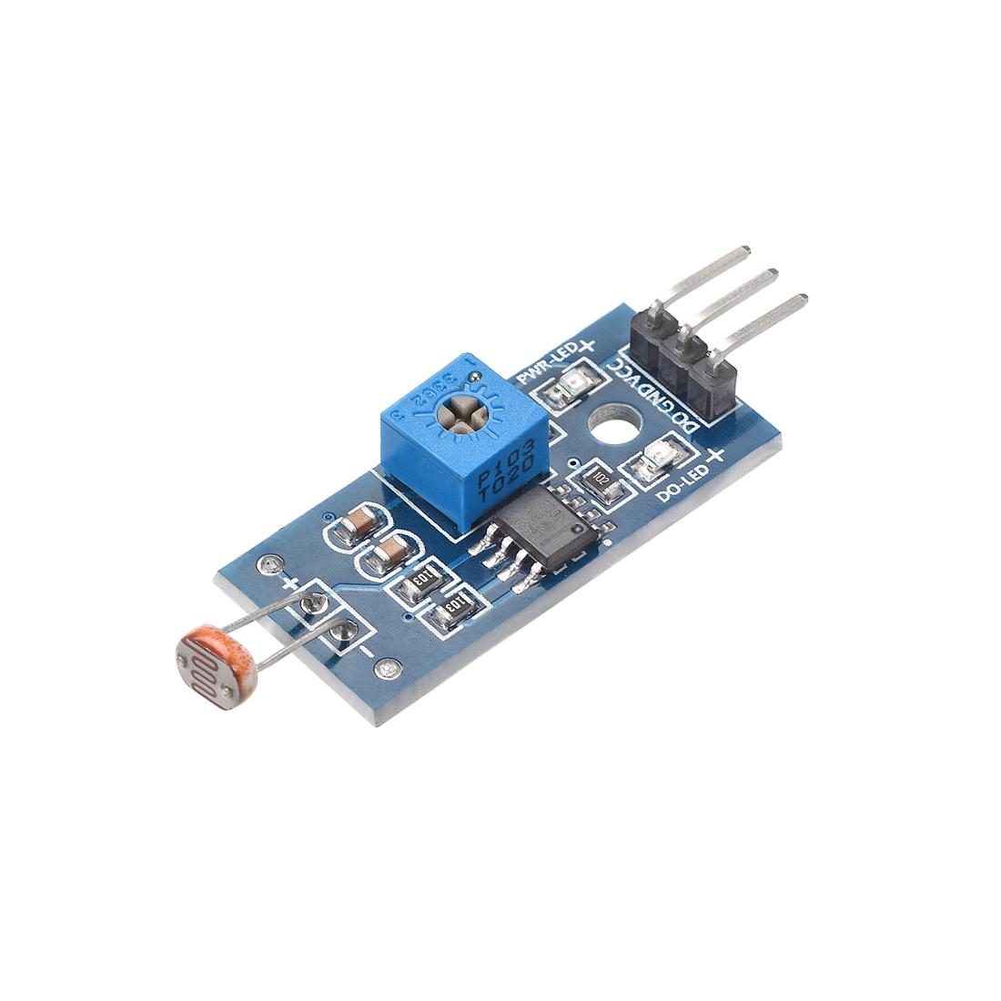 Photosensitive Sensor Module Digital Light Intensity Detection DC 3.3-5V
