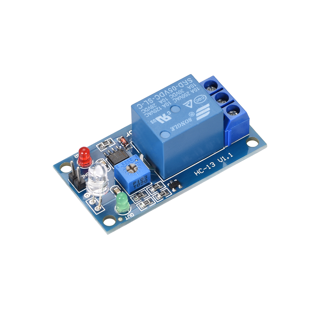 Photosensitive Sensor Module Light Intensity Detection With Diode DC 5V