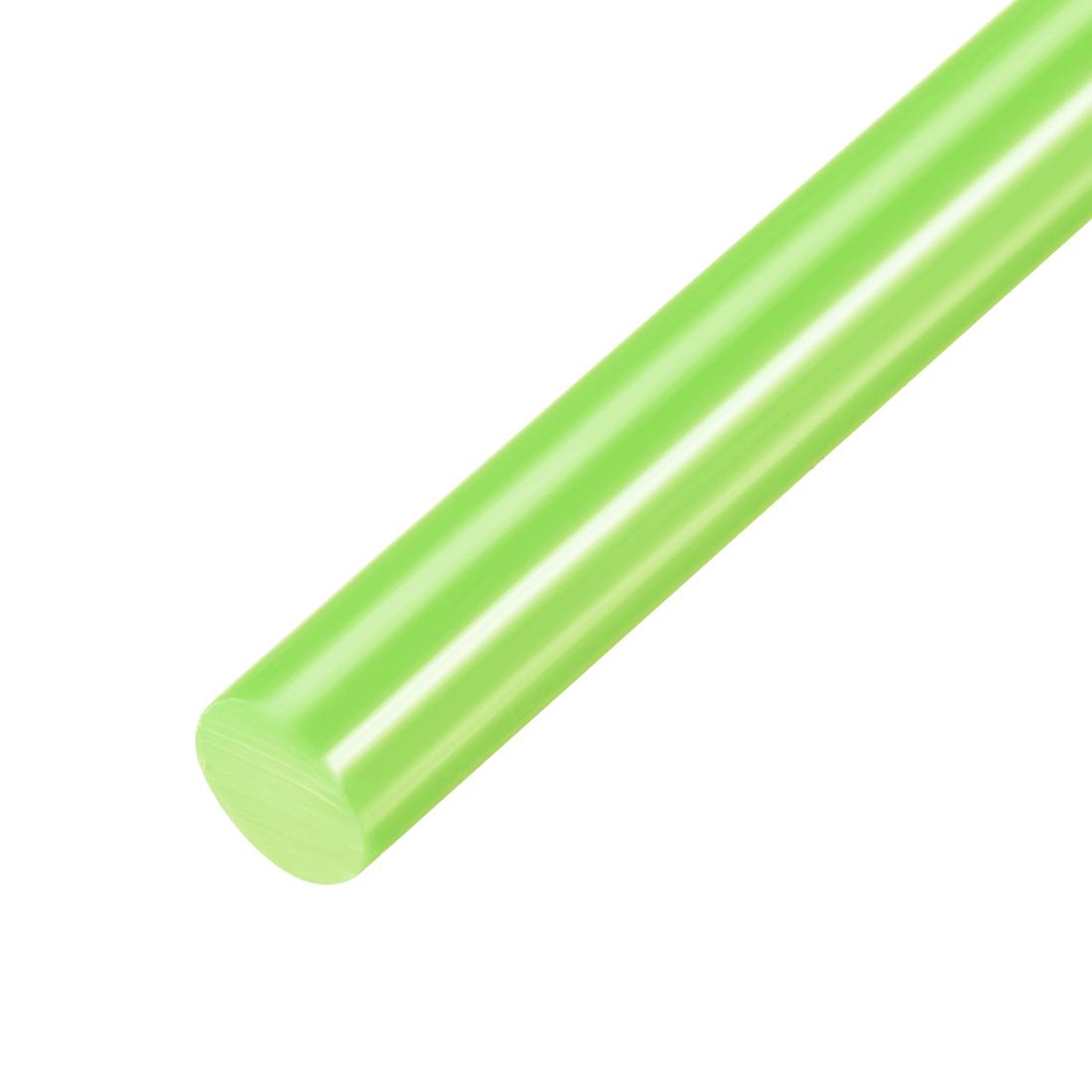 Hot Melt Glue Gun Sticks, 250mm x 11mm,Use with Most Glue Guns,Light Green,20pcs