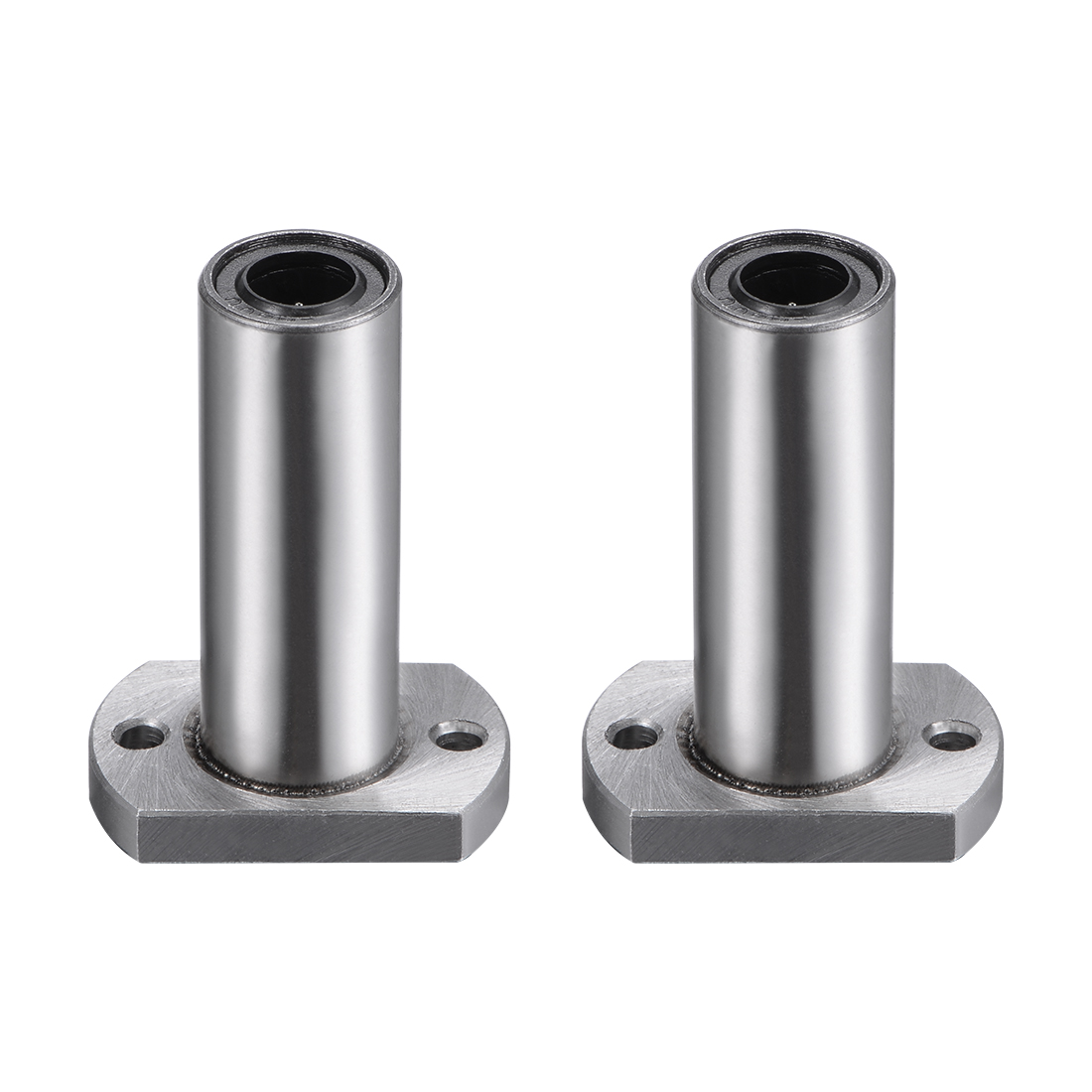 8mm Linear Ball Bearings Two Side Cut Flange LMH8LUU, 8mm Bore, 45mm Length 2pcs