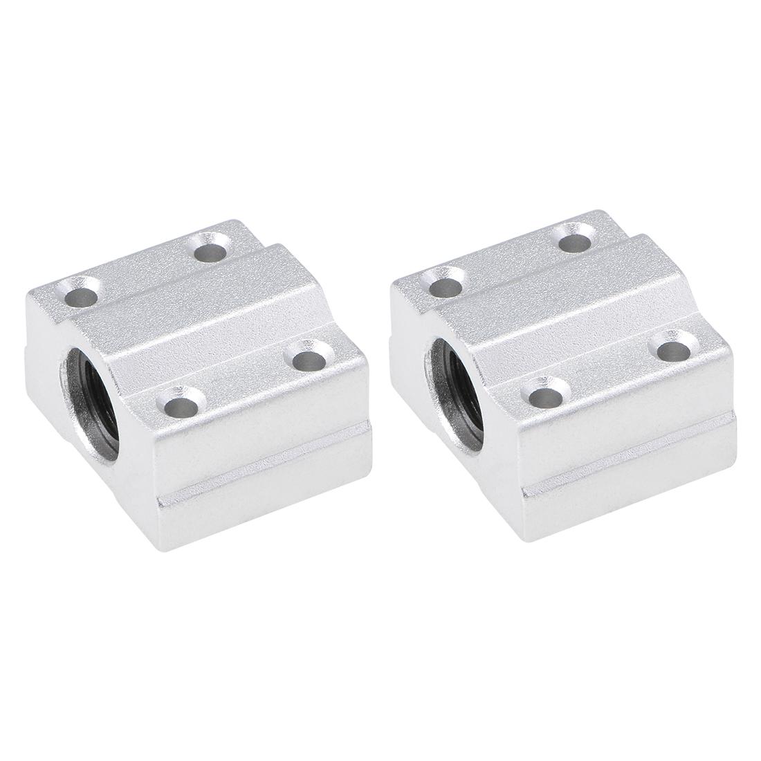 6mm Linear Ball Bearing SCS6UU Slide Block Units, 6mm Bore 2pcs