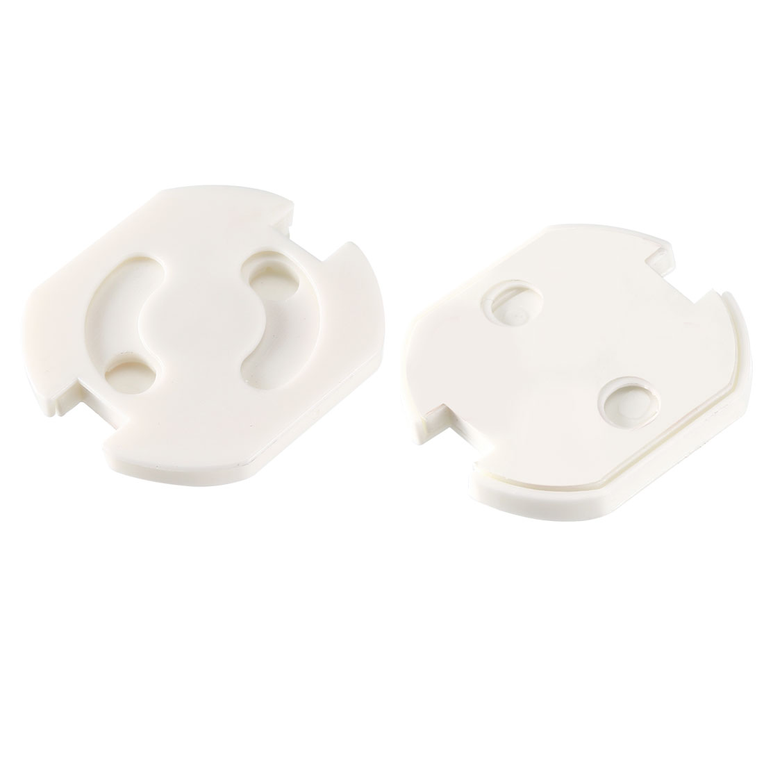 EU Standard Power Socket Covers Electrical Protective Proof Self-adhesive 10 Pcs