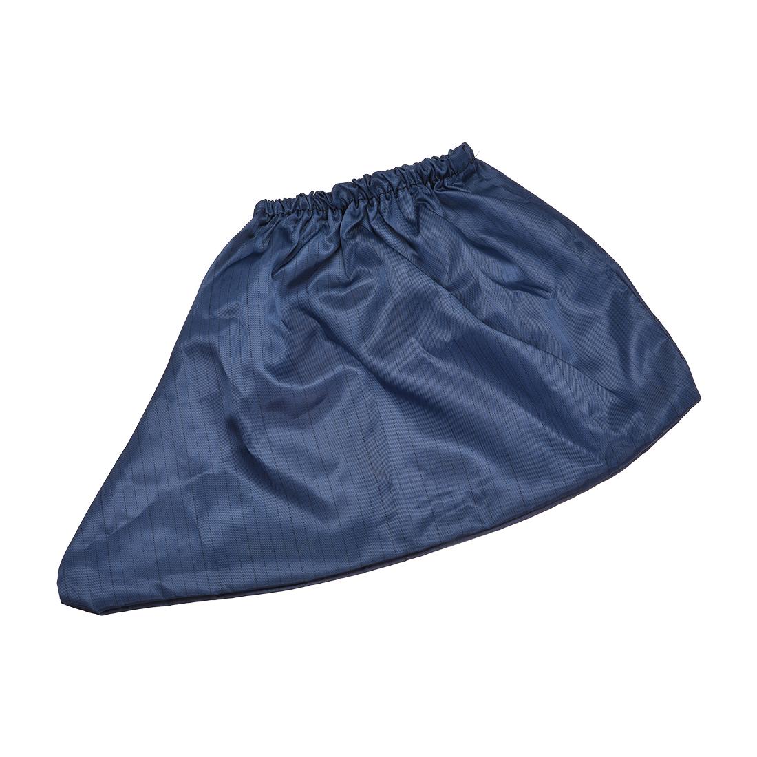 Anti Static Shoe Covers Disposable Slip Resistant Boot Cover Dark Blue 2Pair