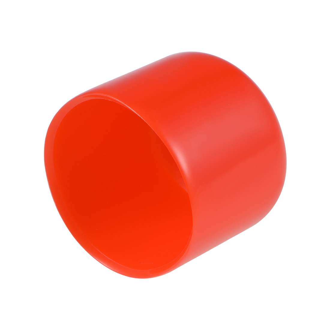 Screw Thread Protectors, 15mm ID 20mm Length Round End Cap Cover Red 20pcs