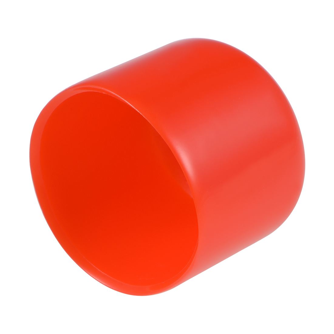 Screw Thread Protectors, 36mm ID 33mm Length Round End Cap Red 10pcs