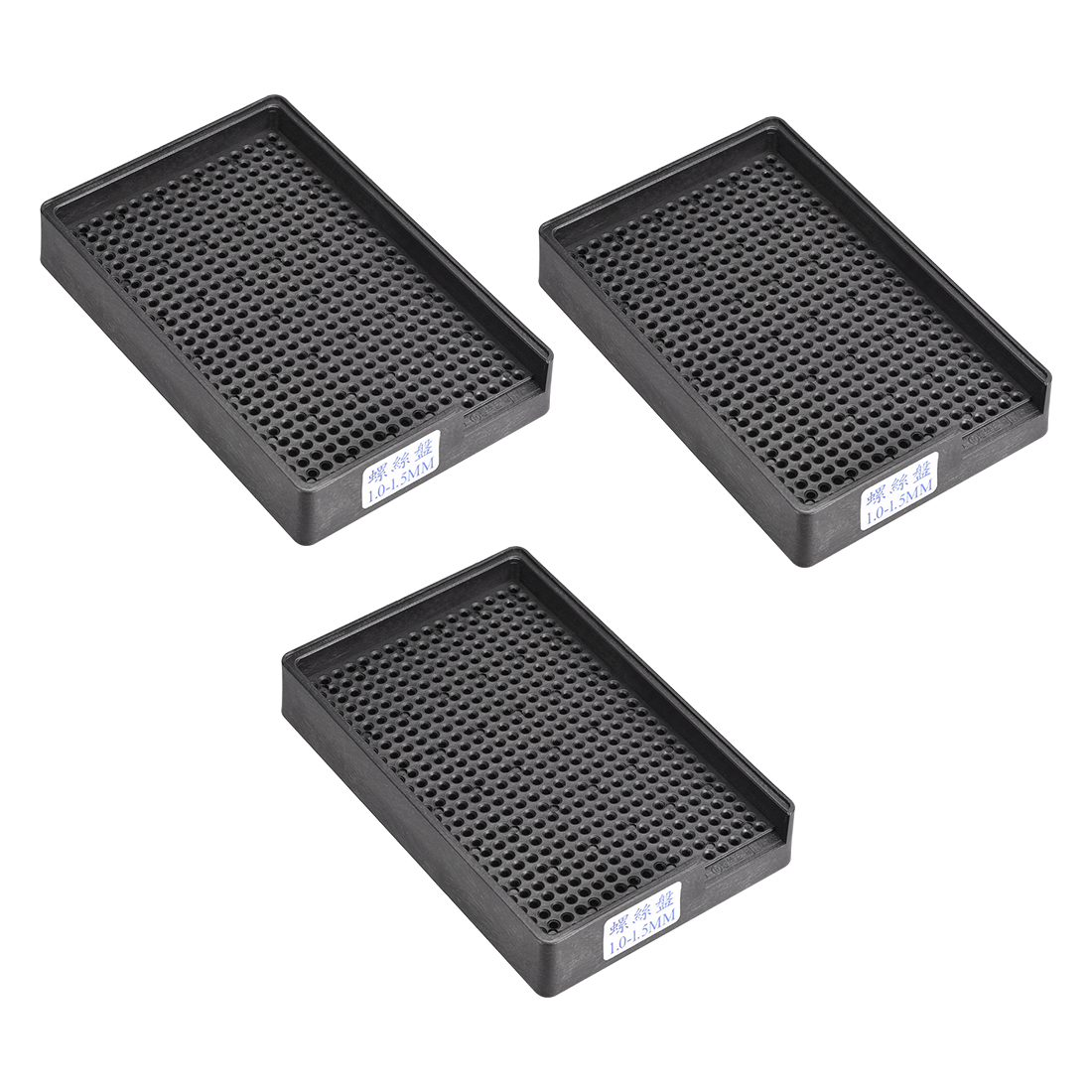 Anti-Static ESD Screws Storage Tray Holder 459 Holes Fit for 1-1.5mm Dia 3pcs