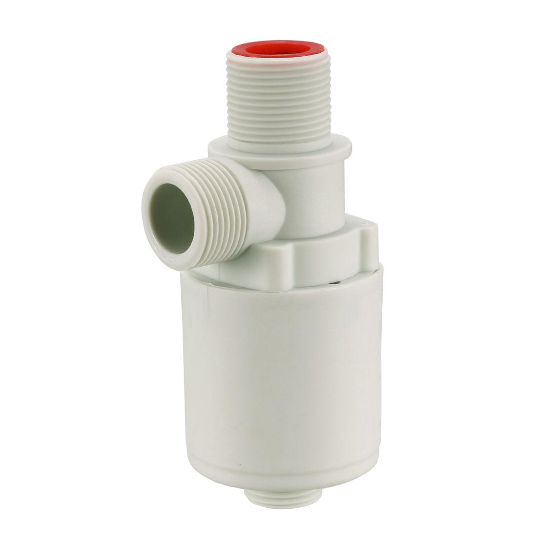 Float Ball Valve G3/4 Thread Plastic Vertical Exterior Water Level Sensor