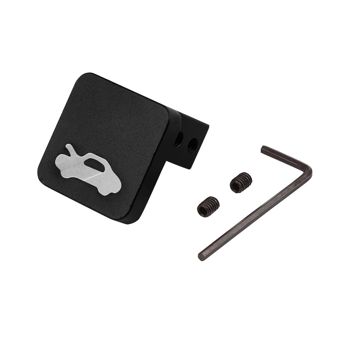 Hood Release Latch Handle Repair Kit Black for Honda Civic CR-V Ridgeline