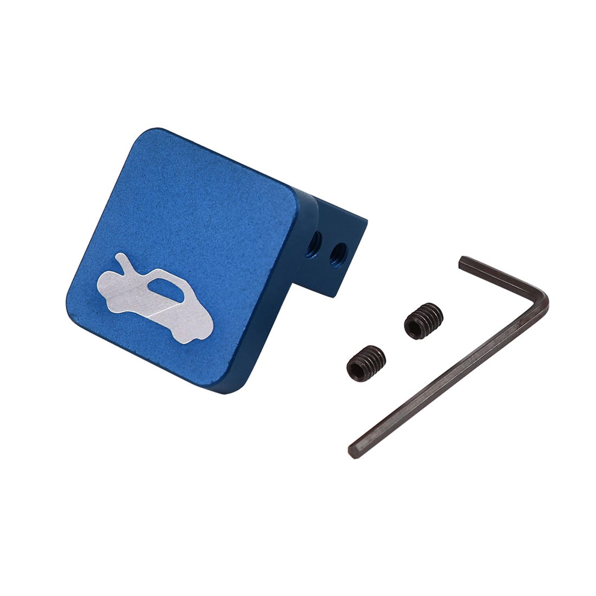 Hood Release Latch Handle Repair Kit Blue for Honda Civic CR-V Ridgeline Element