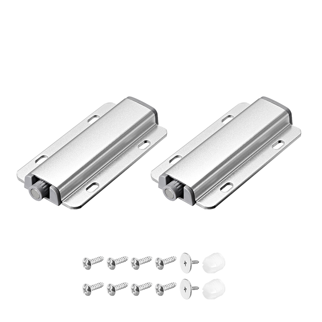 Magnetic Touch Press Catch Latch for Furniture Cabinet Door Cupboard 2 Sets