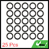 25pcs 15.5 x 24 x 3mm Engine Oil Drain Crush Flat Bonded Washer Seal Gaskets