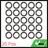 25pcs 19 x 28 x 3mm Engine Oil Drain Crush Flat Bonded Washer Seal Gaskets