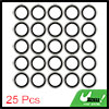25pcs 24 x 35 x 3mm Engine Oil Drain Crush Flat Bonded Washer Seal Gaskets