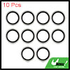 10pcs 31 x 43 x 3mm Engine Oil Drain Crush Flat Bonded Washer Seal Gaskets