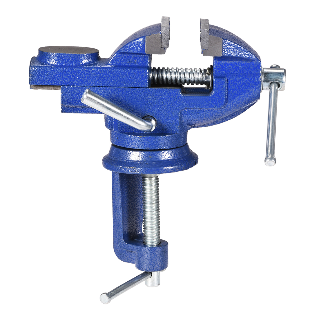 Clamp Vise 50mm Carbon Steel Jaws 360 Degree Swivel Table Bench Vise