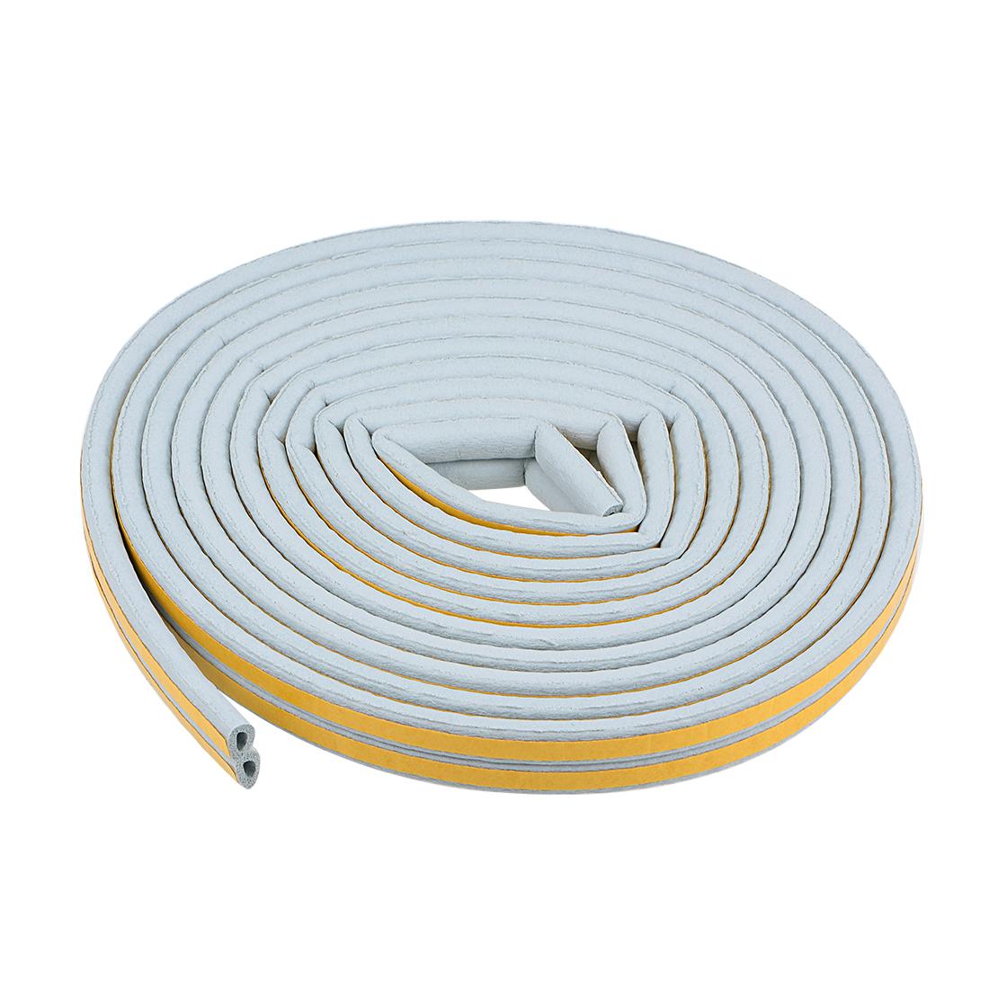 Foam Tape Self-Adhesive 9mm Width 6mm Thick, Total 26 Feet Gray 2Pcs