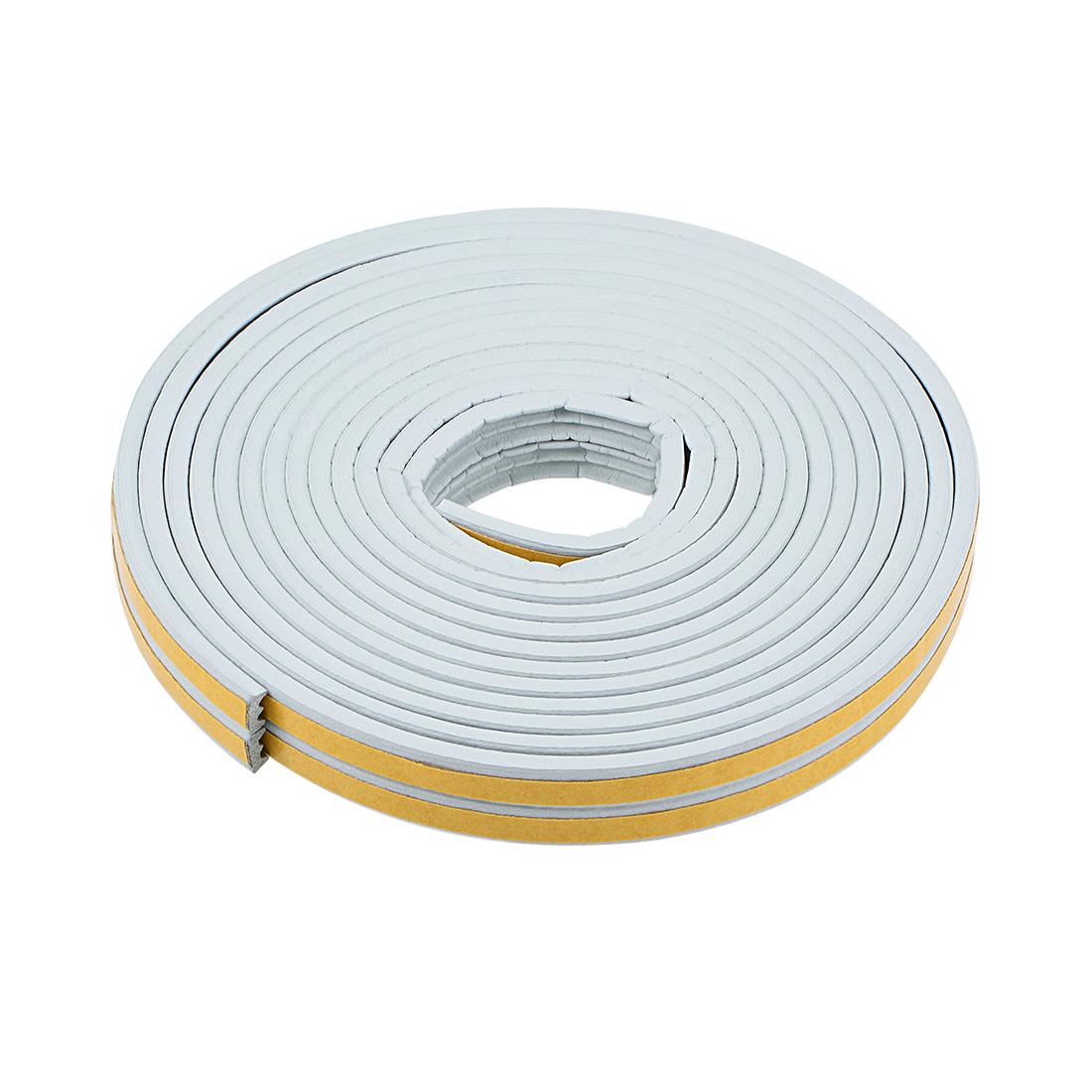 Foam Tape Adhesive 9mm Width 4mm Thick, Total 26 Feet Long Gray 2Pcs