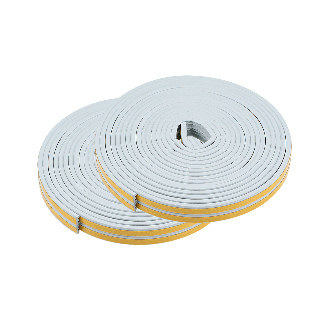 Foam Tape Adhesive 9mm Width 4mm Thick, Total 65.6 Feet Long Gray 4Pcs