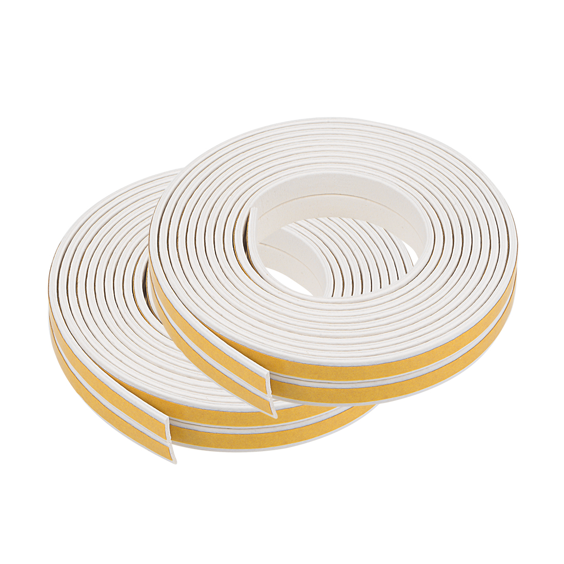 Foam Tape Adhesive 9mm Wide 2mm Thick, Total 32.8 Feet White 4Pcs