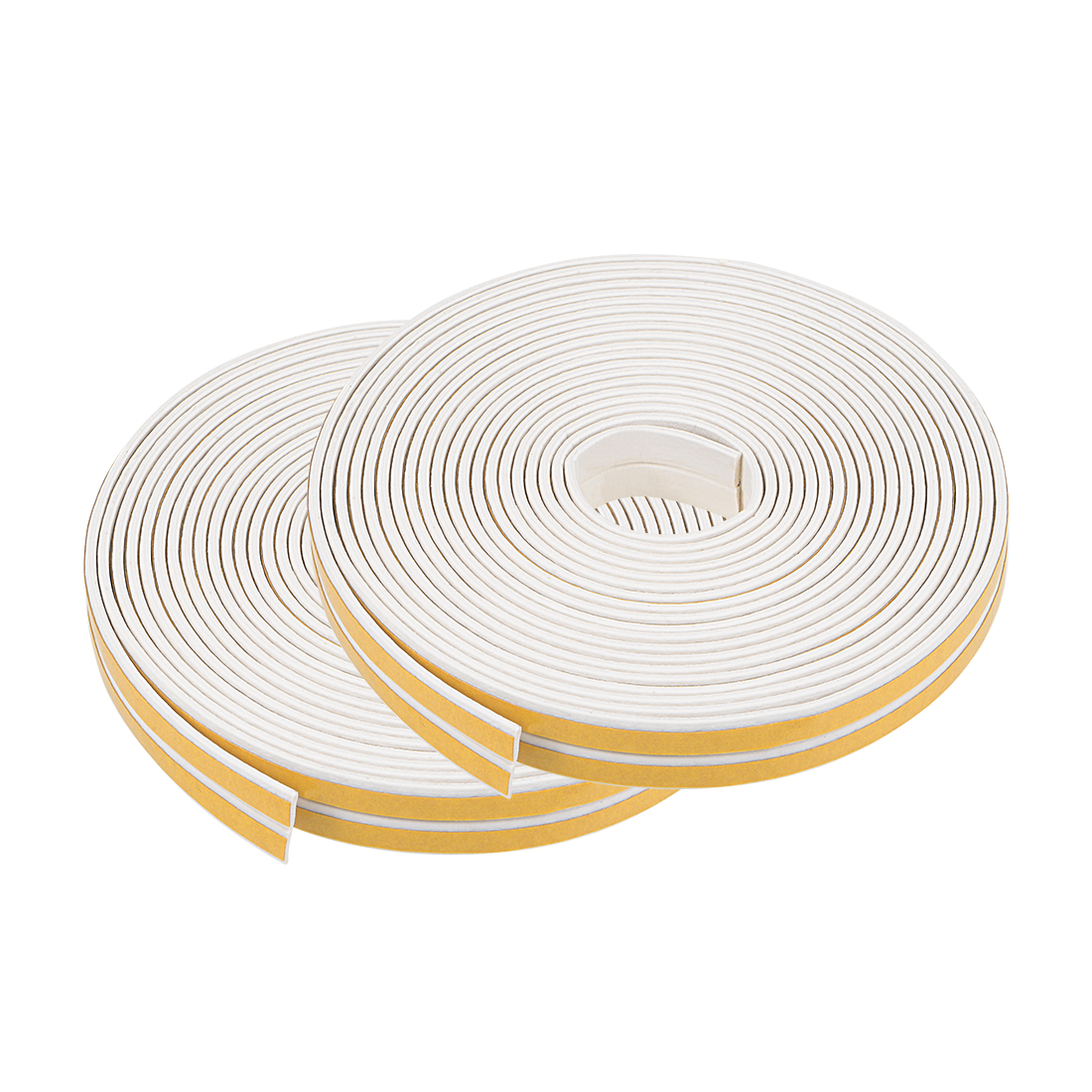 Foam Tape Adhesive 9mm Wide 2mm Thick, Total 65.6 Feet White 4Pcs