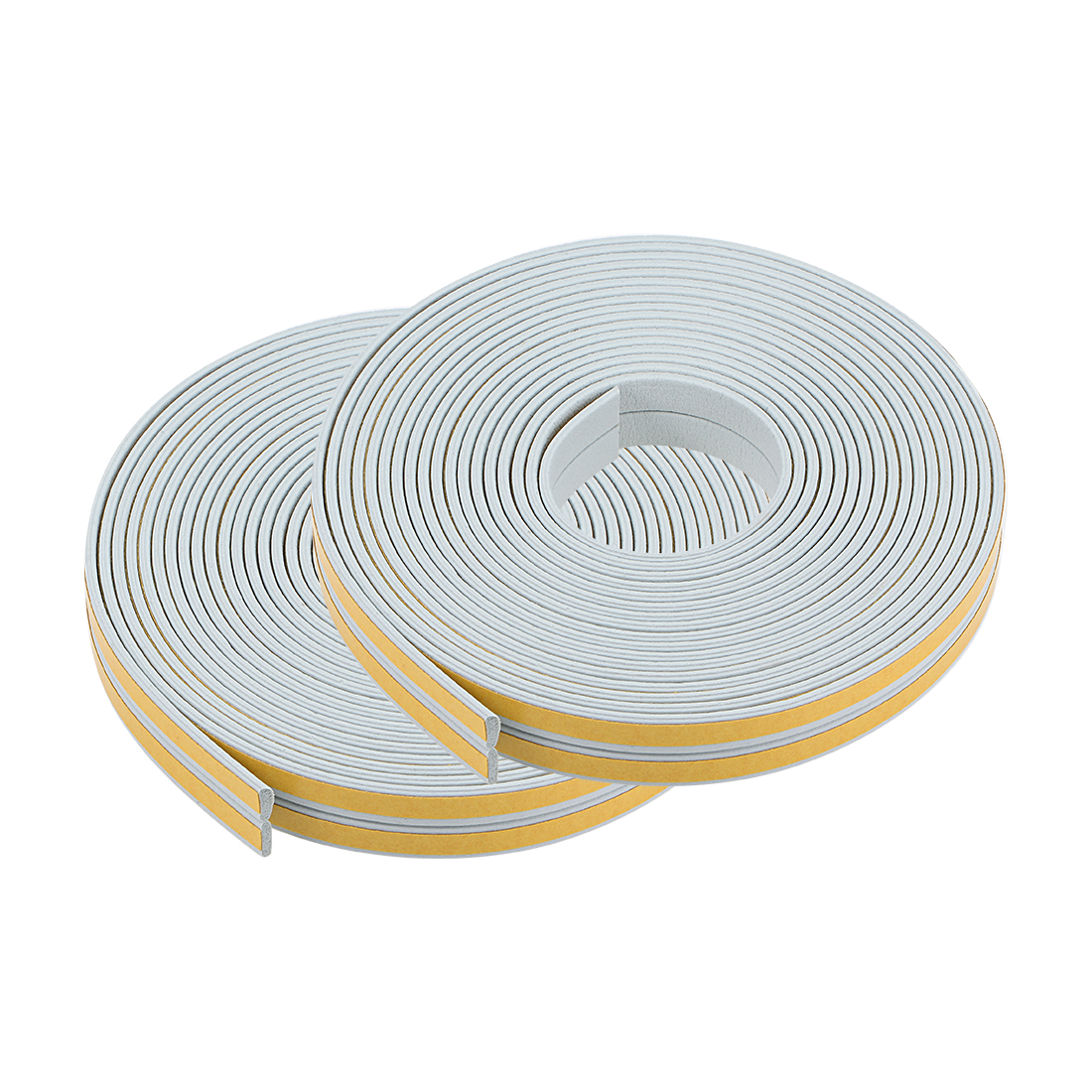 Foam Tape Adhesive 9mm Wide 2mm Thick, Total 65.6 Feet Gray 4Pcs