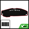 Car Inner Dash Sun Cover Dashboard Cover Carpet for Land Rover Discovery 4
