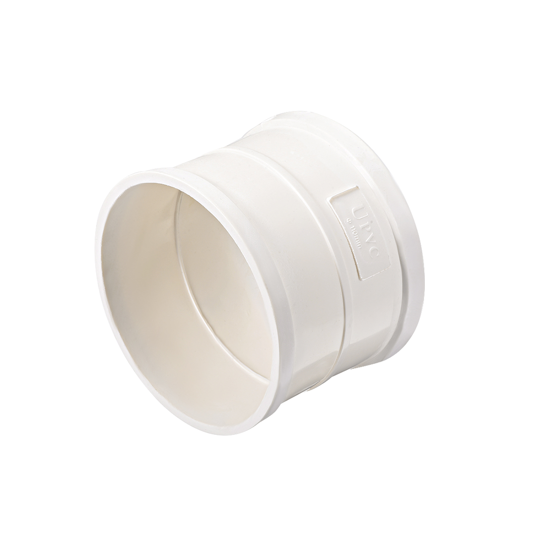PVC Pipe Fitting Coupling Schedule 40 White 4-inch Socket