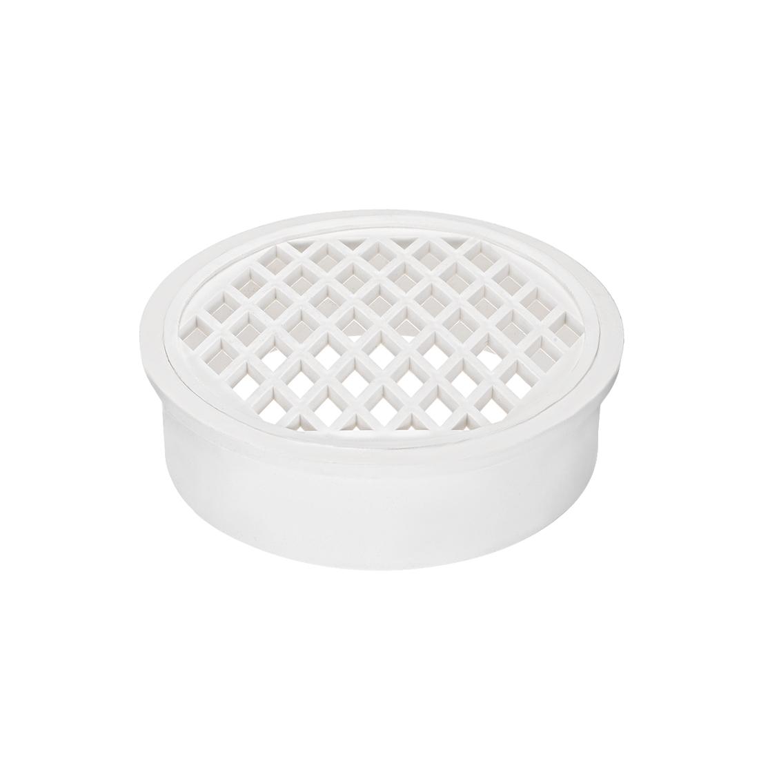 PVC Snap-In Floor Drain 6-inch Socket Bathroom Sink And Tub Drain Strainers