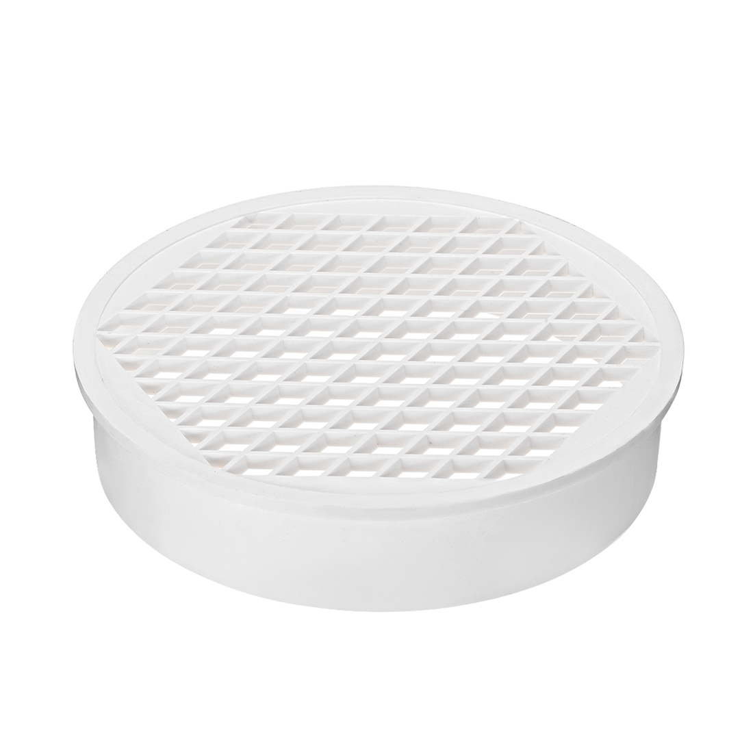 PVC Snap-In Floor Drain 8-inch Drain Cover Bathroom Sink And Tub Drain Strainers