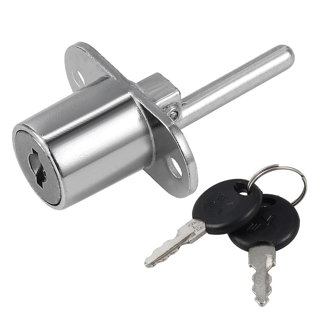 Drawer Lock, 3/4-inch(19mm) Diameter 20mm Long Cylinder, Keyed Different