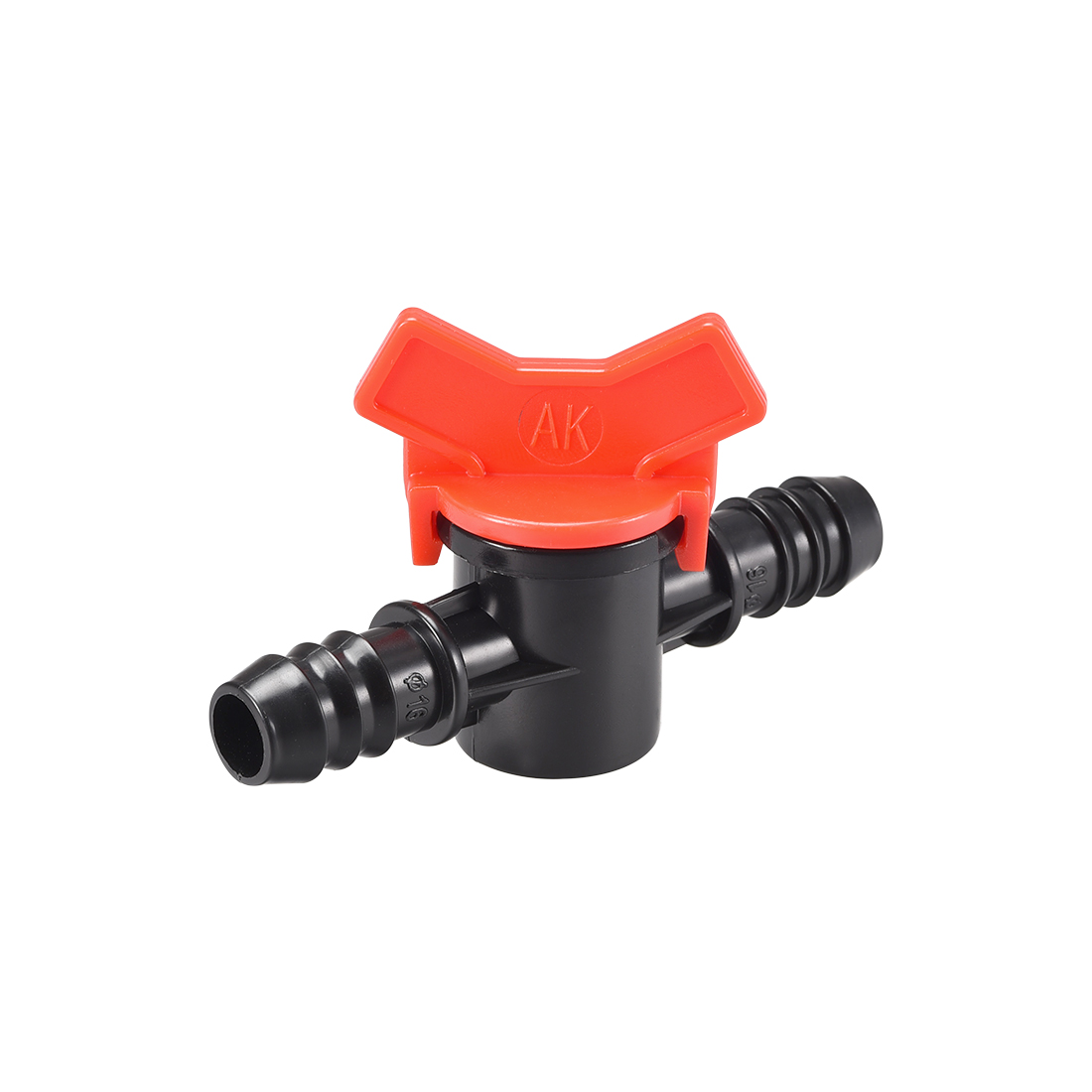 Drip Irrigation Barbed Valve for 1/2 Inch Double Male Barbed Valve