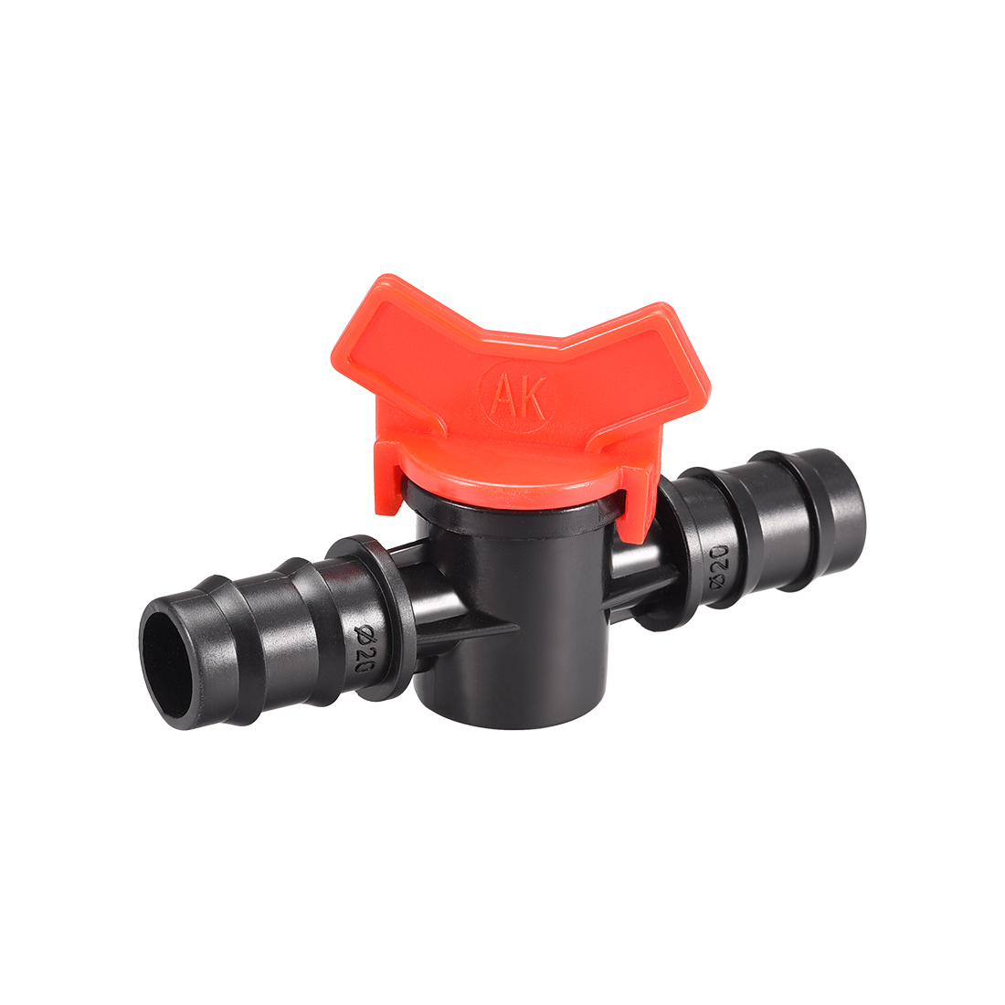 Drip Irrigation Barbed Valve for 5/8 Inch Double Male Barbed Valve