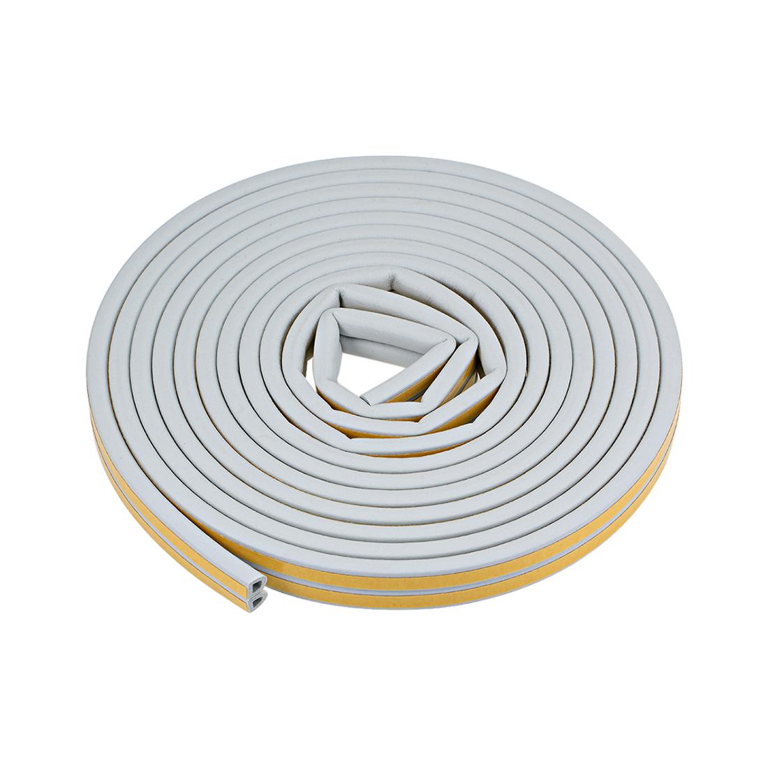 Foam Tape Self-Adhesive 9mm Width 7.5mm Thick, Total 26 Feet Gray 2Pcs
