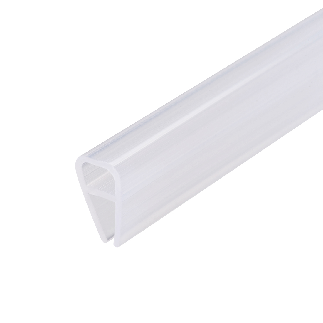 """Frameless Glass Shower Door Sweep Seal U-Type 8mm Drip Rail 5/16""""(8mm) x 78.74"""""""