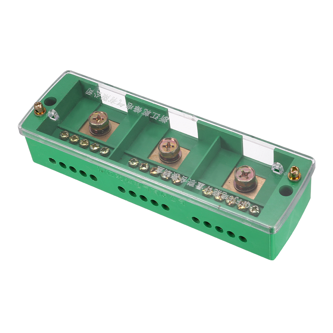 3 Inlet 15 Outlet Terminal Strip Blocks Single Phase Distribution Block