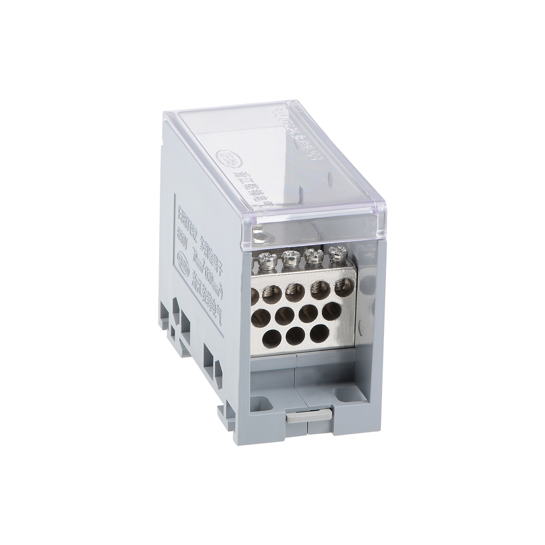 1 Input 12 Output 35mm DIN Rail Terminal Blocks 690V Connectors Distribution Block