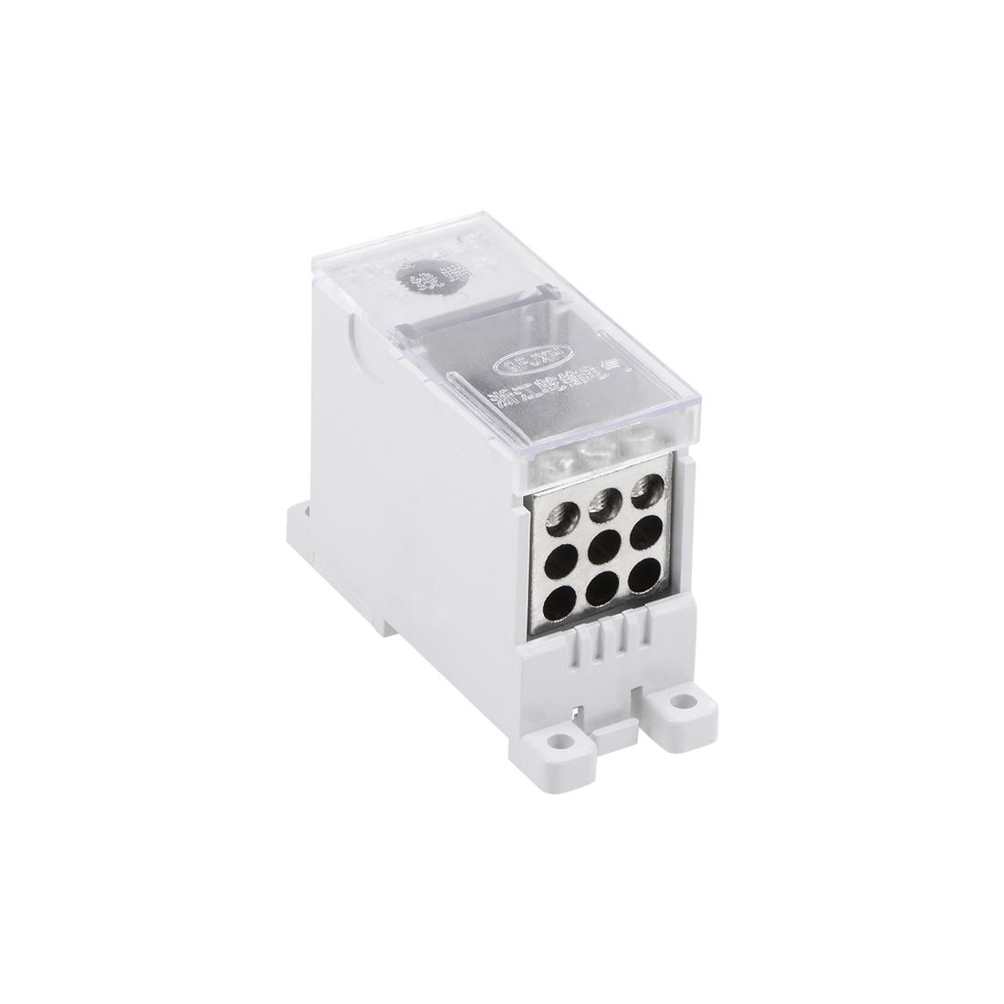 1 Input 9 Output DIN Rail Terminal Blocks Connectors Distribution Block