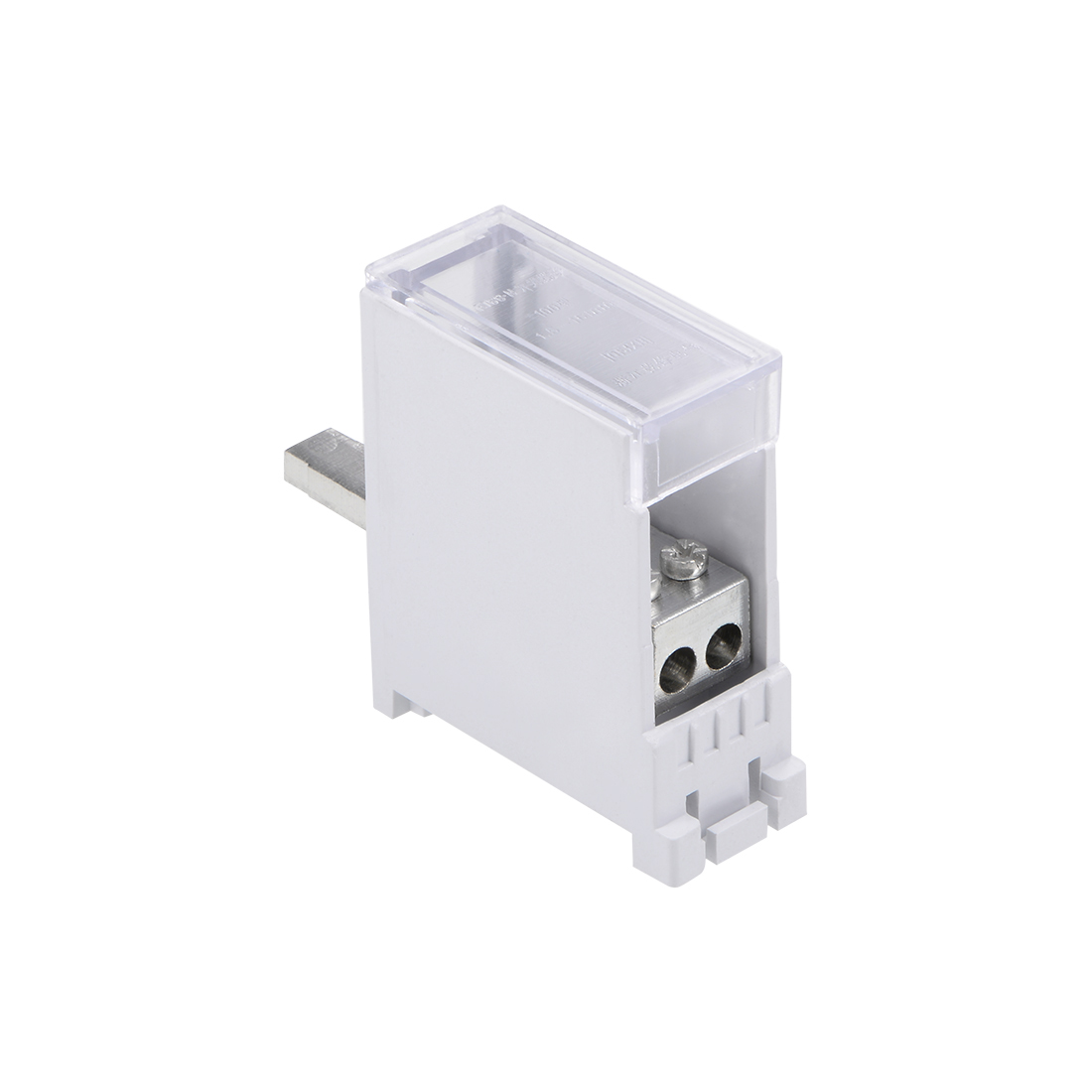 1 Inlet 2 Outlet Terminal Blocks DIN Rail Distribution Block for Circuit Breaker