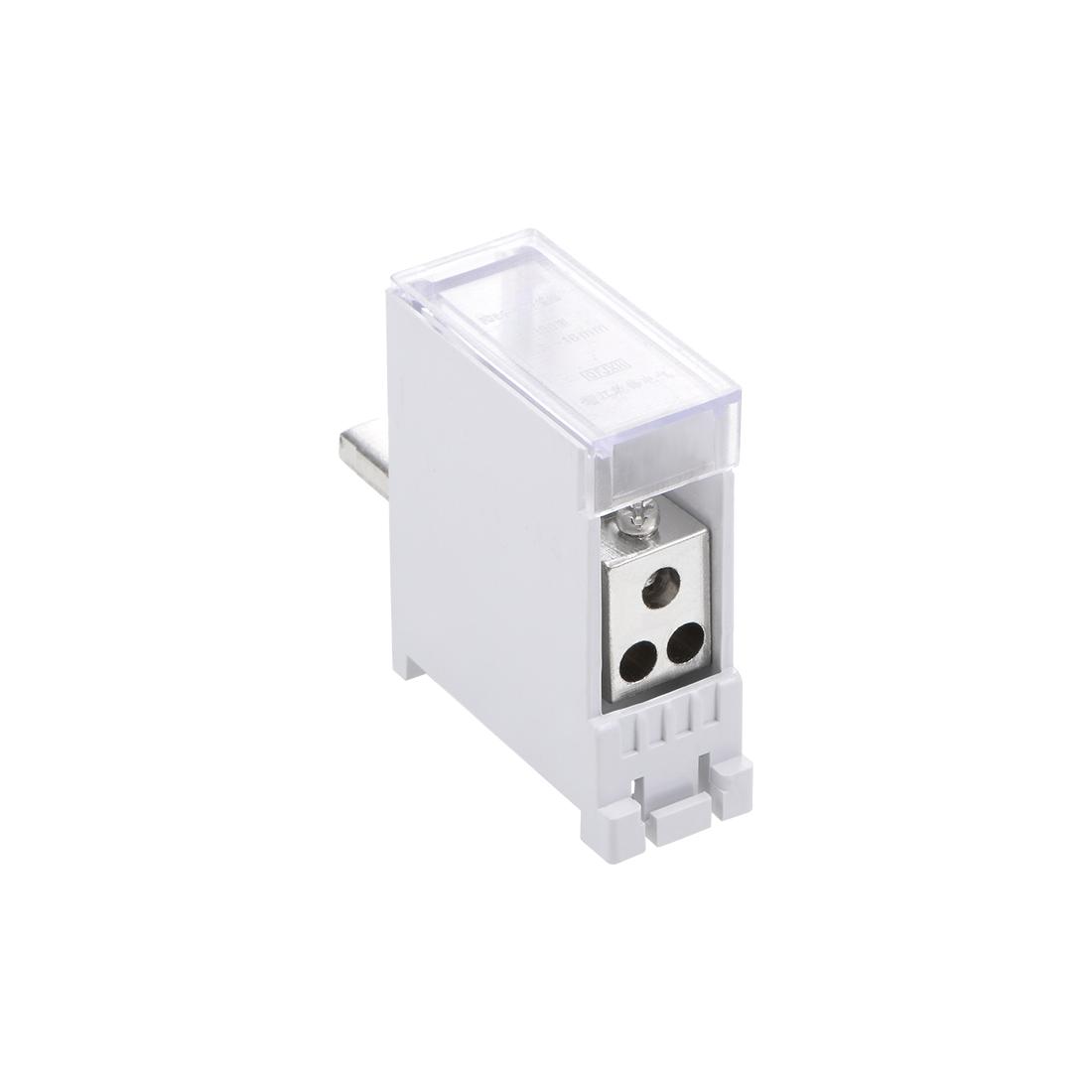 1 Inlet 3 Outlet Terminal Blocks DIN Rail Distribution Block for Circuit Breaker