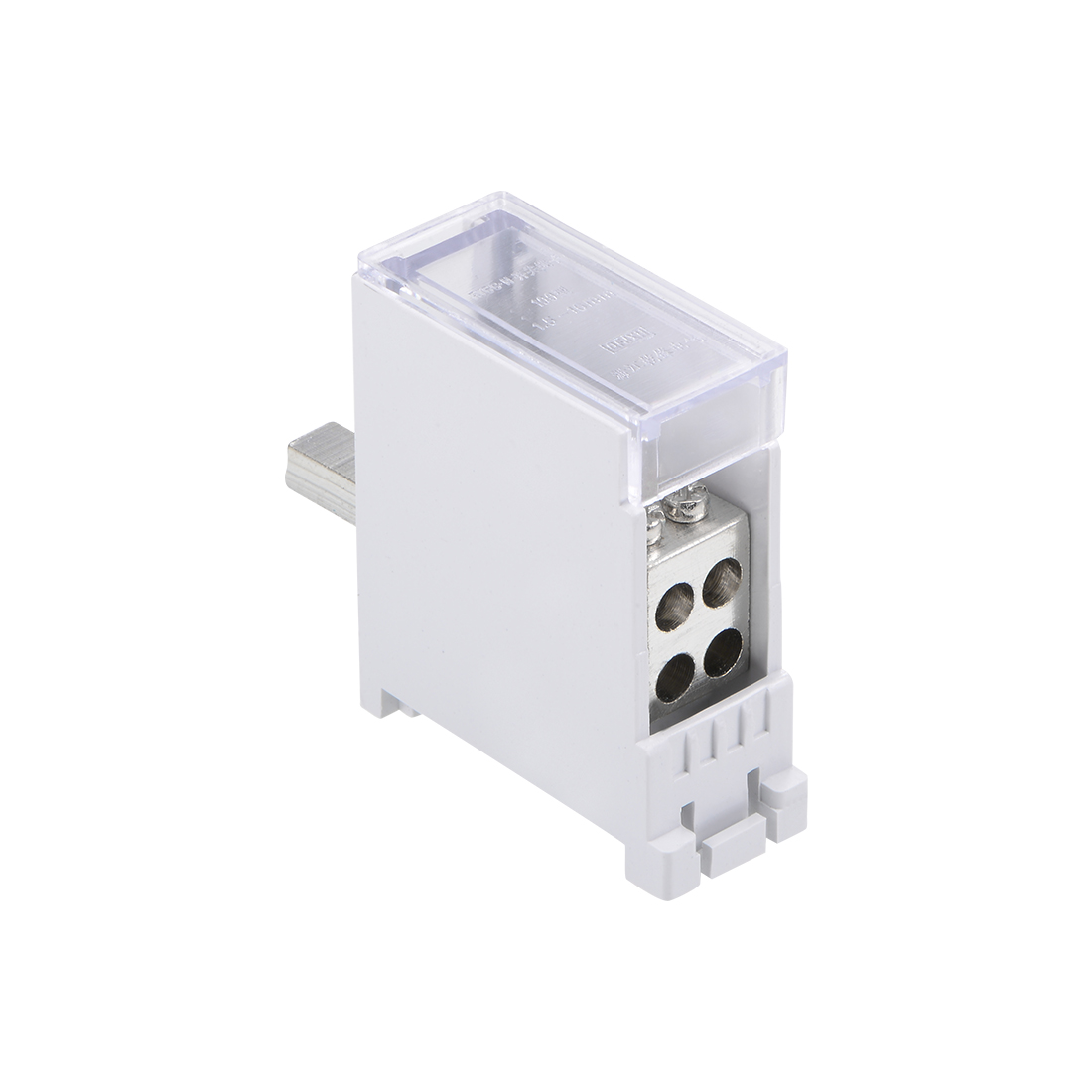 1 Inlet 4 Outlet Terminal Blocks DIN Rail Distribution Block for Circuit Breaker