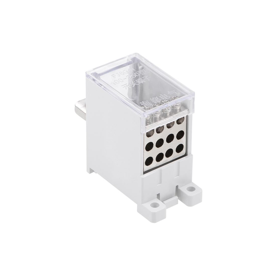 1 Inlet 12 Outlet DIN Rail Terminal Block Distribution Block for Circuit Breaker